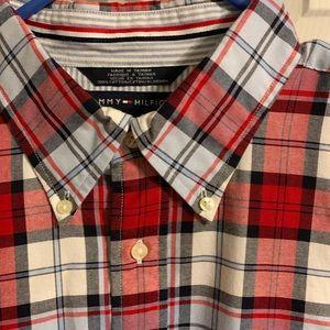 Tommy Hilfiger Shirts - Tommy Hilfiger button down sz XL